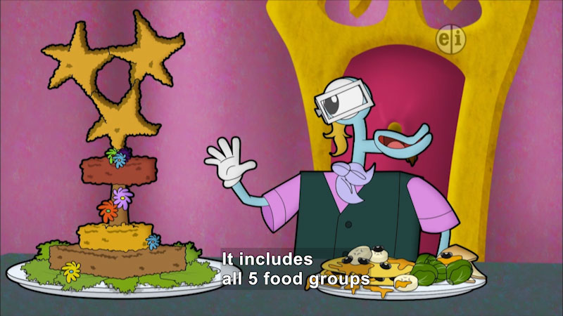 Still image from Cyberchase: A Recipe for Chaos