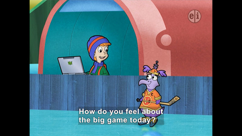Still image from: Cyberchase: Face-Off
