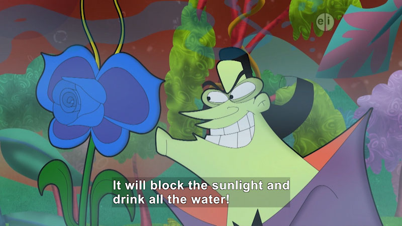 Still image from Cyberchase: Invasion of the Funky Flower