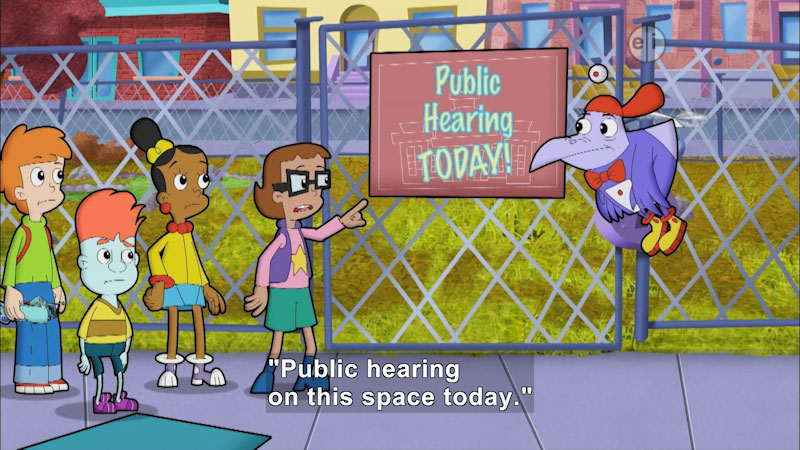Still image from: Cyberchase: Parks and Recreation