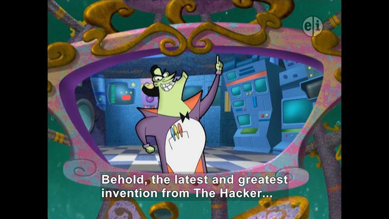 Still image from Cyberchase: The Hacker's Challenge