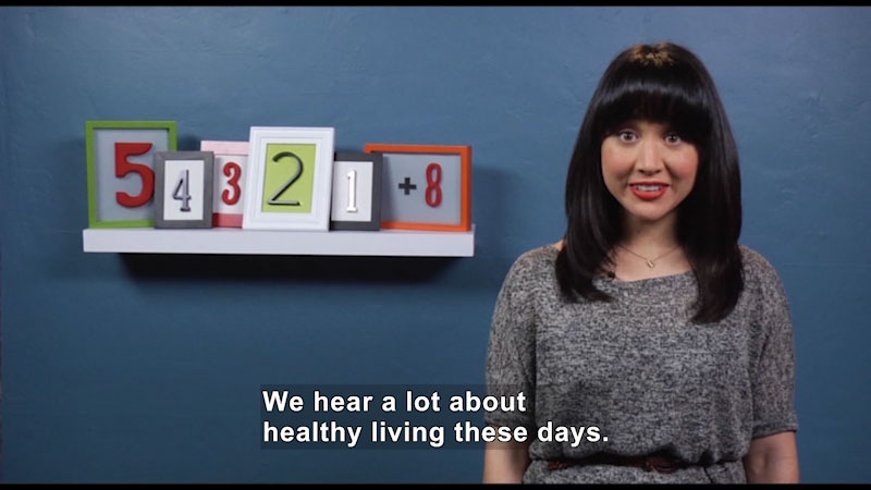 Still image from: 54321+8: Countdown to Your Health