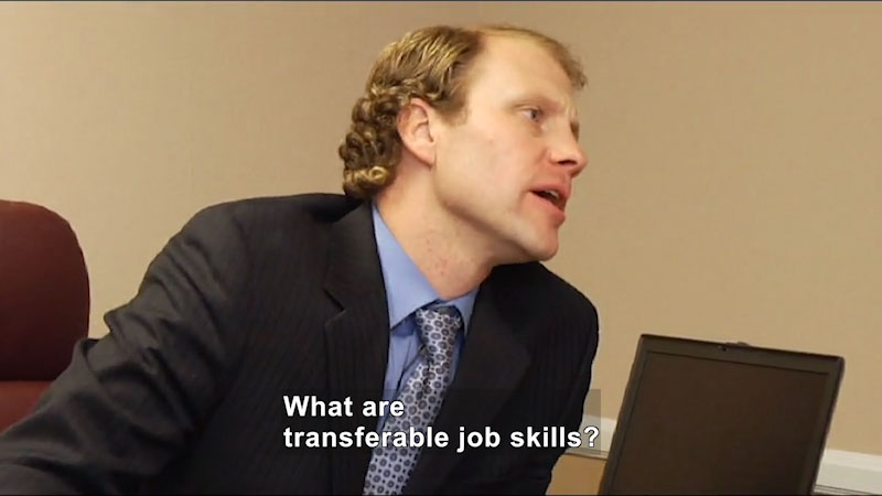 Still image from: Secrets: Landing and Keeping a Job