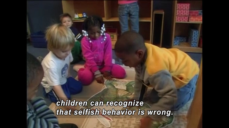 Still image from: Encouraging Moral Development in Children