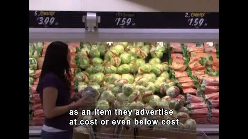 Still image from: Grocery Shopping Challenge