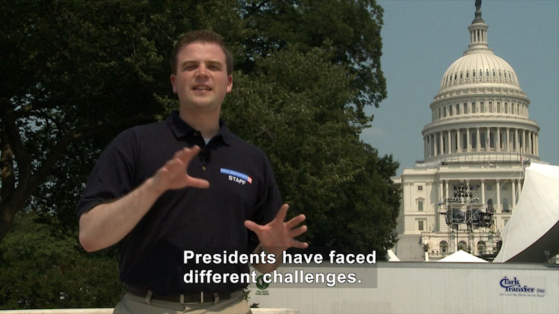 Still image from: Constitution Hall Pass: The Presidency