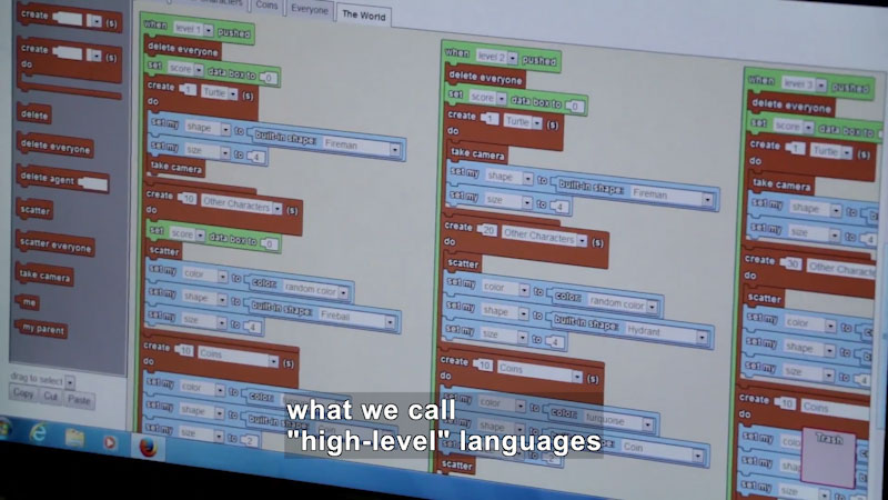 Still image from: Ask a Scientist: What Is Coding?