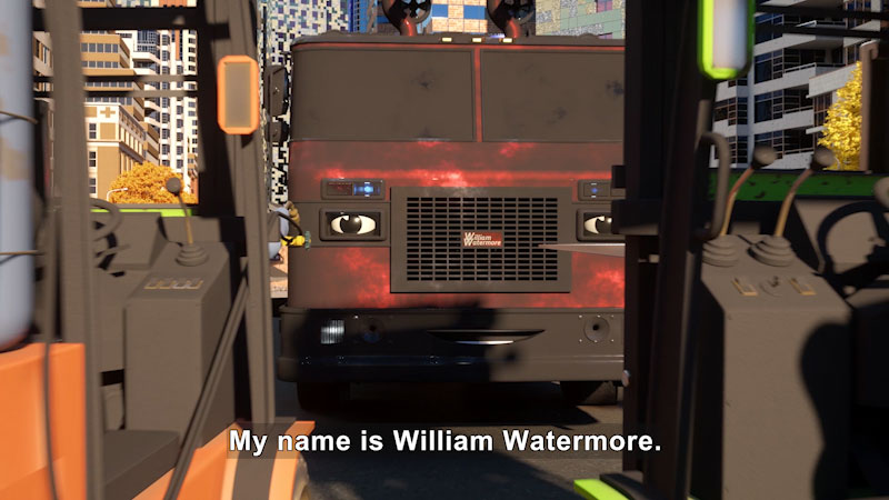 Still image from: Real City Heroes: William Watermore the Fire Engine