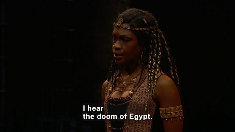 Still image from: Antony and Cleopatra