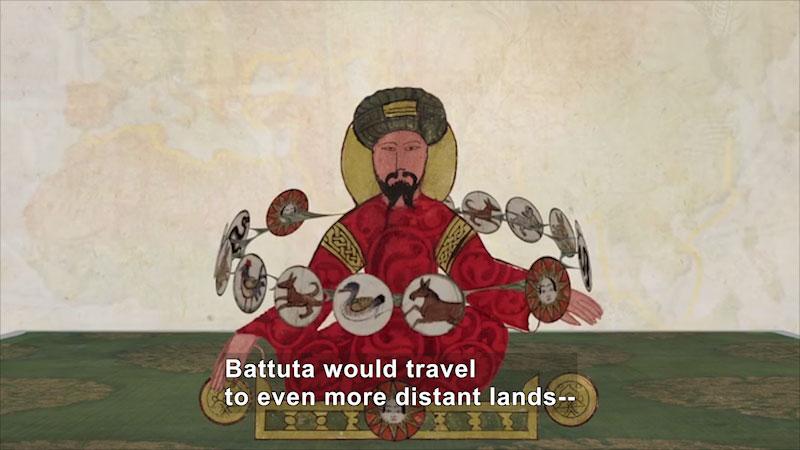Still image from: World Explorers: Ibn Battuta