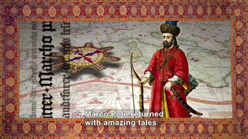 Still image from World Explorers: Marco Polo