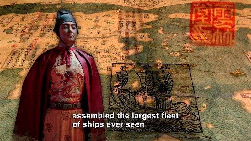 Still image from: World Explorers: Zheng He