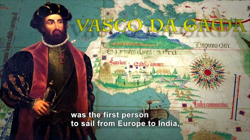 Still image from World Explorers: Vasco da Gama