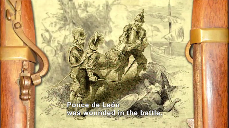 Still image from World Explorers: Ponce de León