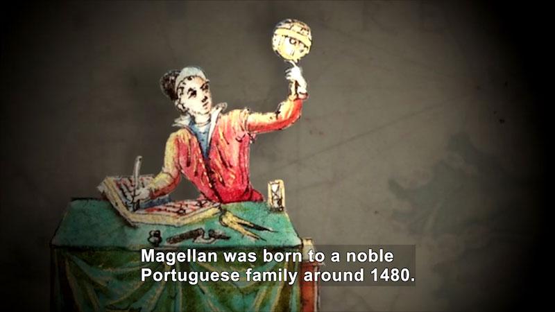 Still image from World Explorers: Ferdinand Magellan
