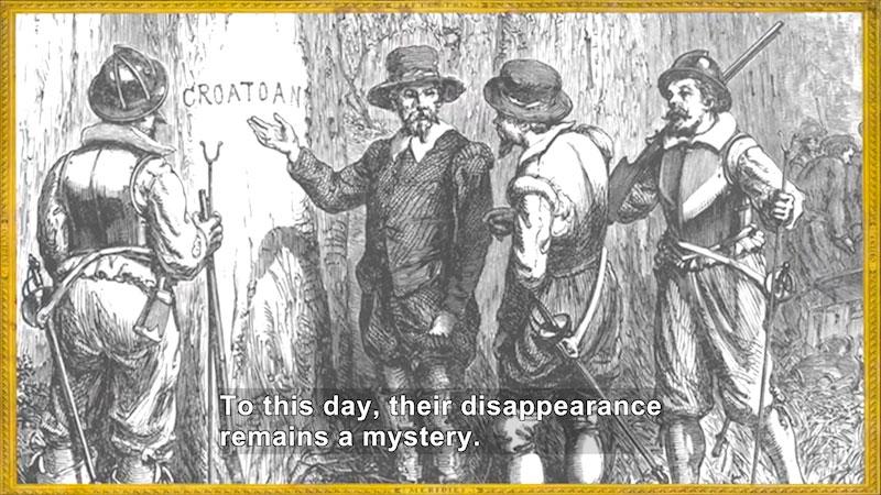 Still image from World Explorers: Sir Walter Raleigh & John White
