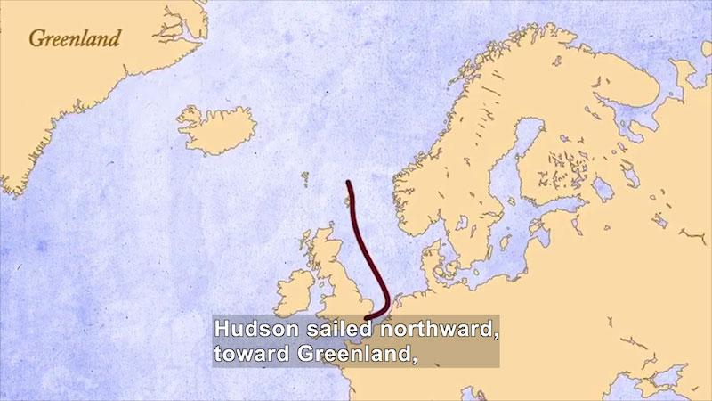 Still image from: World Explorers: Henry Hudson