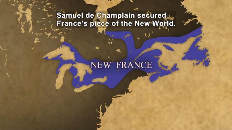 Still image from: World Explorers: Samuel de Champlain