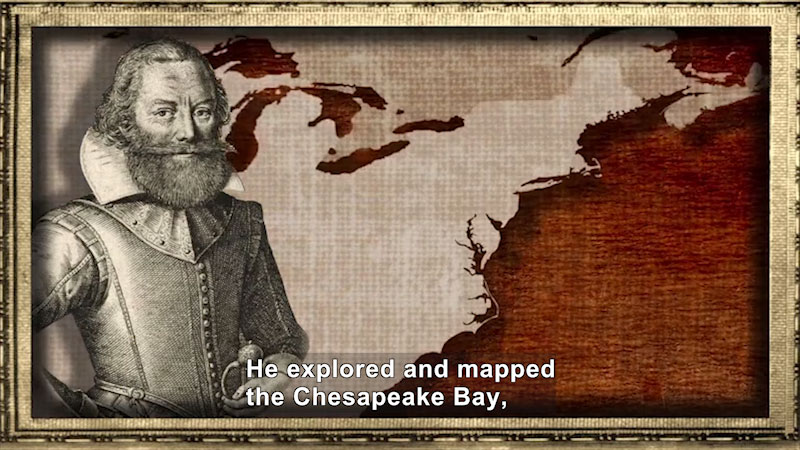 Still image from: World Explorers: John Smith