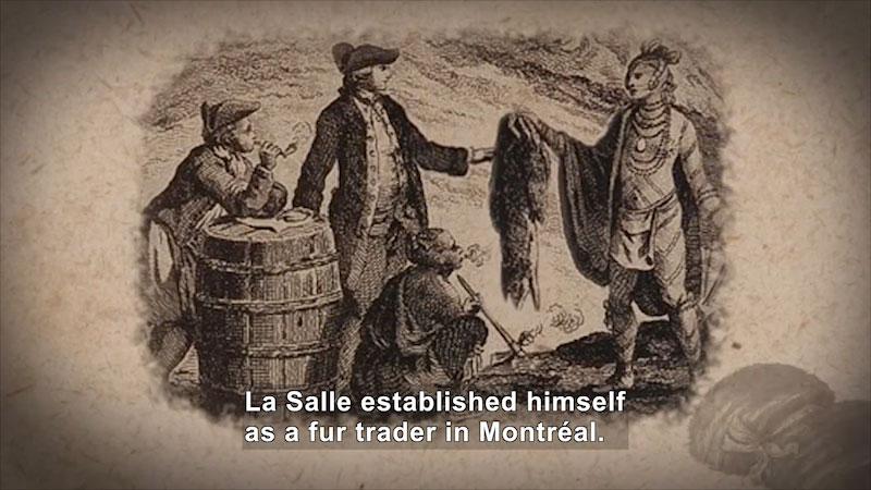 Still image from: World Explorers: Robert de La Salle