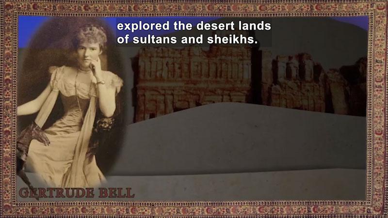Still image from: World Explorers: Gertrude Bell