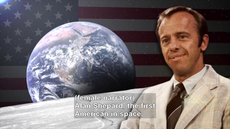 Still image from World Explorers: Alan Shepard