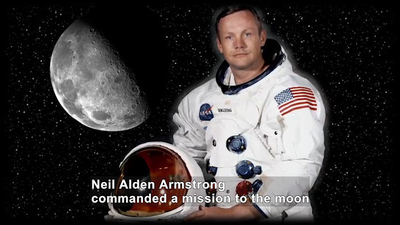 Still image from World Explorers: Neil Armstrong