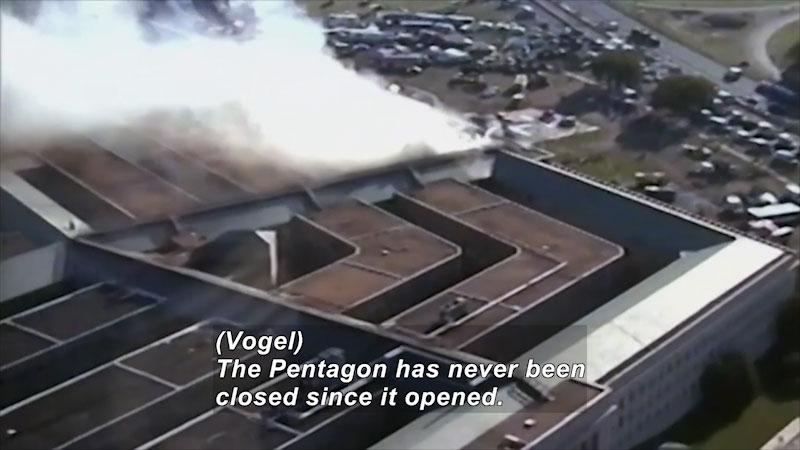 Still image from: 9/11 Inside the Pentagon