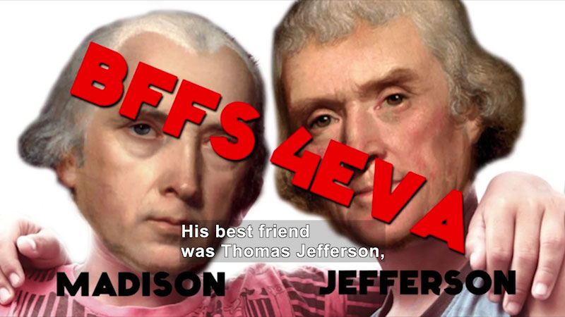 Still image from: 60-Second Presidents: James Madison
