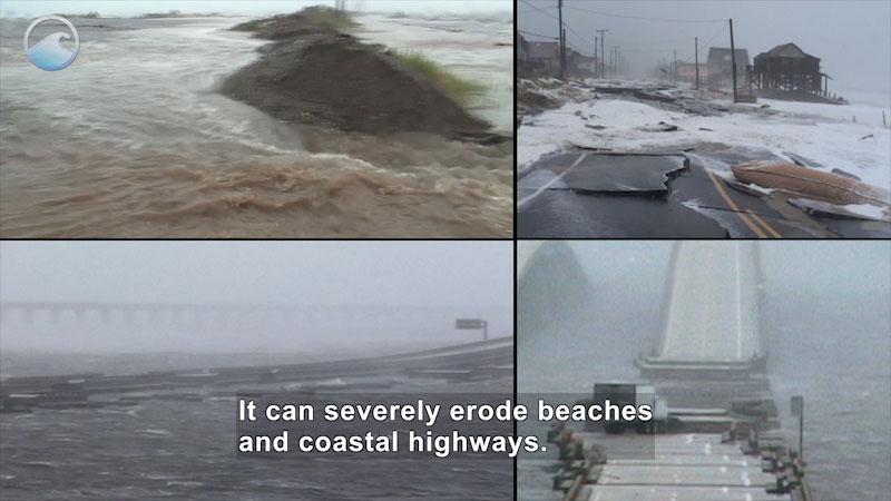 Still image from Danger Zone: Hurricane Storm Surge