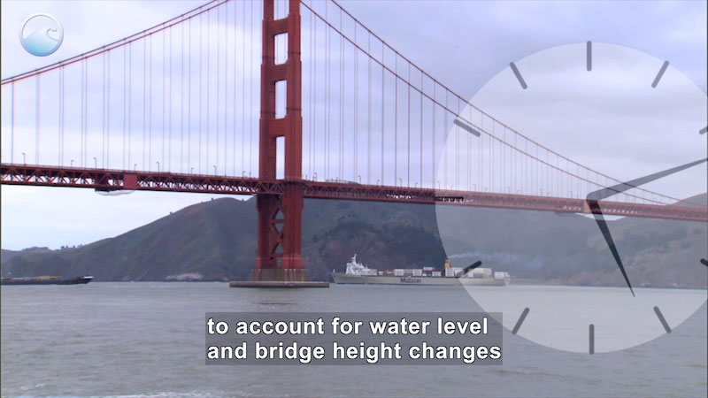 Still image from: Ship Under a Bridge
