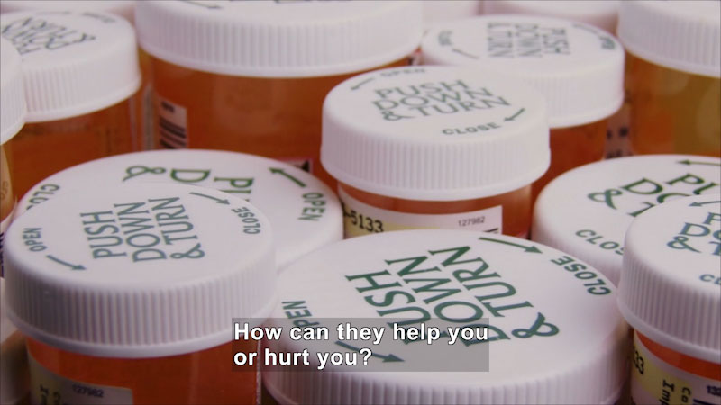 Still image from: Let's Talk About Drugs