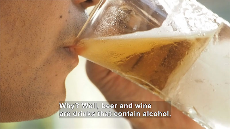 Still image from: Let's Talk About Alcohol