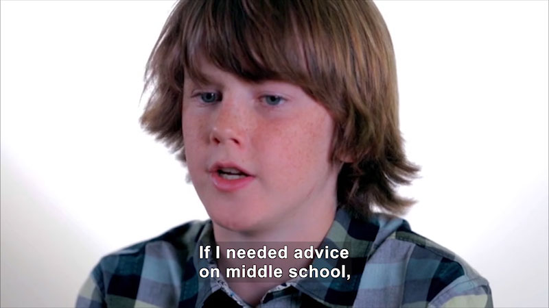 Still image from: Moving Up to Middle School: Problems Solved--Advice From Middle Schoolers (Volume 3)