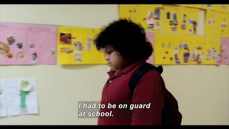 Still image from: The Bully Report