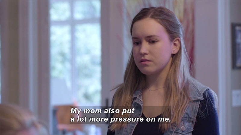 Still image from: Teens 101: Depression & Self-Harm (Brittany's Story)