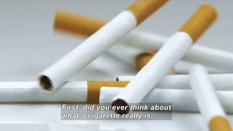 Still image from: Talk It Out: Smoking Tobacco It's Your Choice