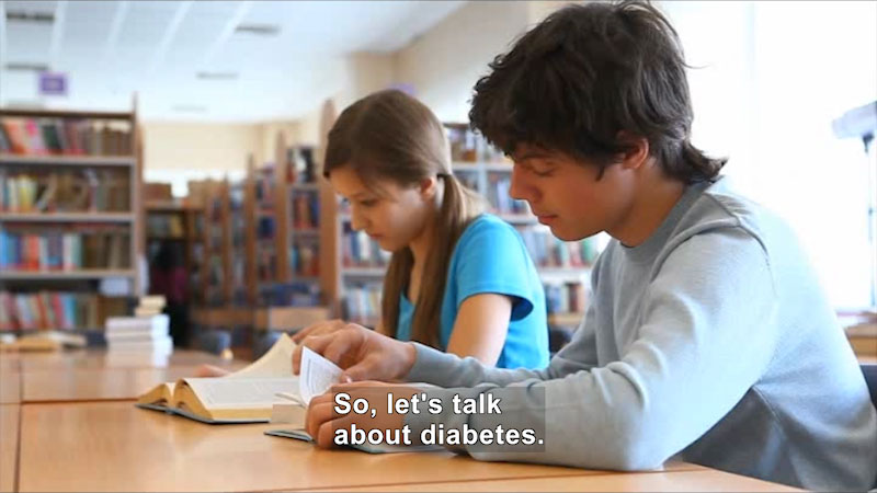 Still image from: Let's Talk About Diabetes