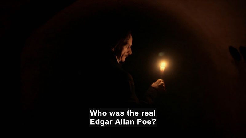 Still image from: Edgar Allan Poe: Buried Alive (Biography and Falsehoods)