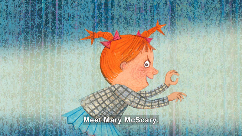 Still image from: Mary McScary