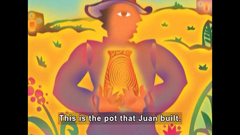 Still image from: The Pot That Juan Built