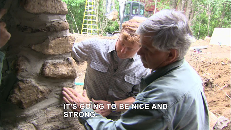 Still image from This Old House: Trade School--A New Foundation