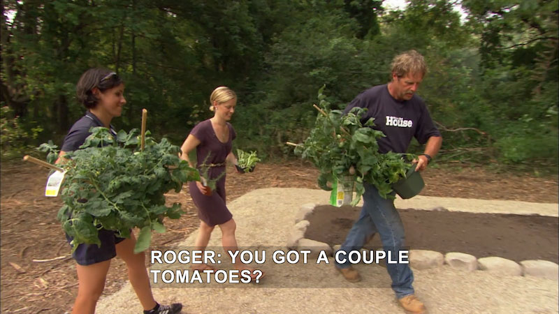 Still image from This Old House: Trade School--Raised Vegetable Beds