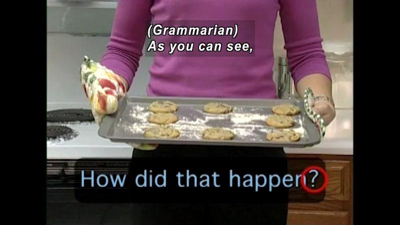 Still image from: Punctuation & Grammar