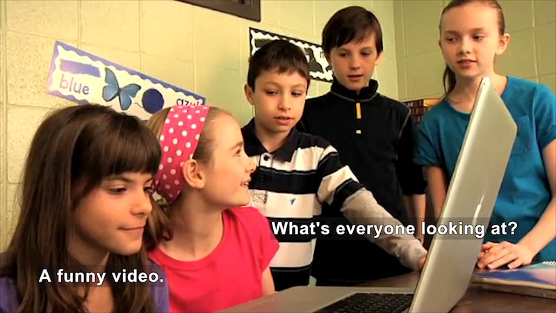 Still image from: What Is Cyberbullying?
