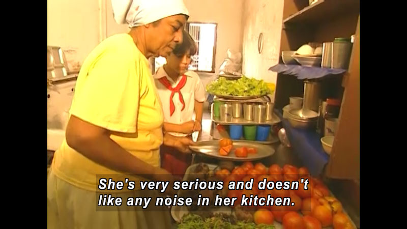 Still image from: There Is No Food Like My Food: Cuba--Raudel In Cuba