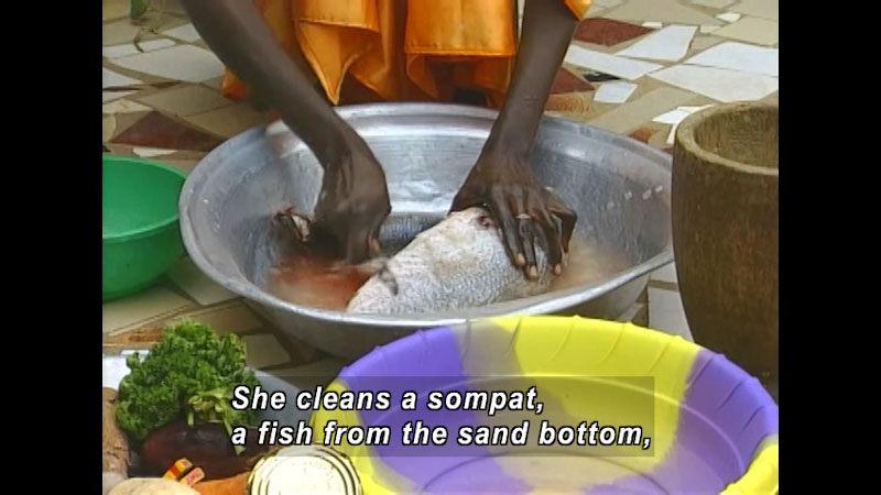 Still image from: There Is No Food Like My Food: Senegal--Cheik In Senegal