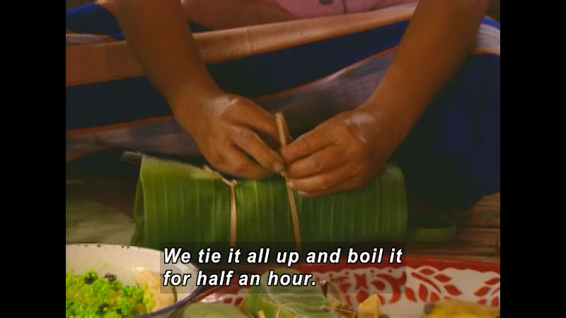 Still image from: There Is No Food Like My Food: Thailand--Mik In Thailand