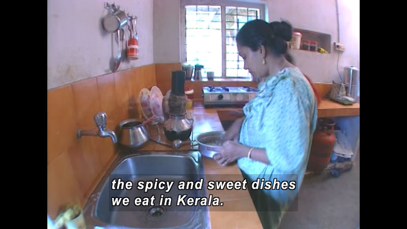 Still image from: There Is No Food Like My Food: India--Renymol In India