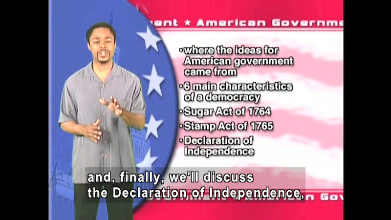 Still image from: Standard Deviants School: Introduction to Government (American Government Program 1)